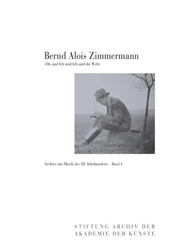 Heribert Henrich (Hg.), Bernd Alois Zimmermann.