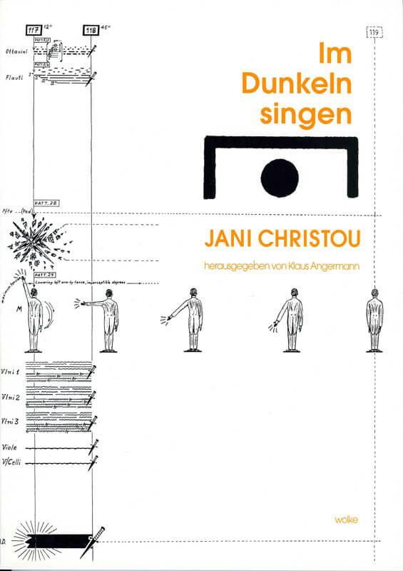 Klaus Angermann(Hg.), Jani Christou. Im Dunkeln singen