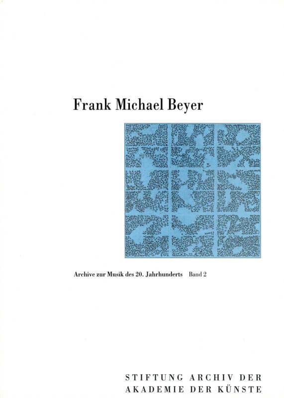 Werner Grünzweig (Hg.), Frank Michael Beyer