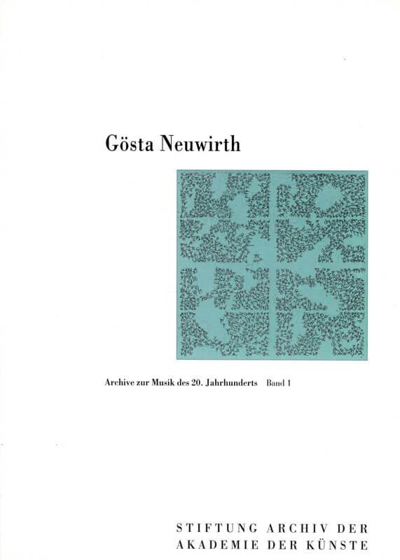 Werner Grünzweig (Hg.), Gösta Neuwirth