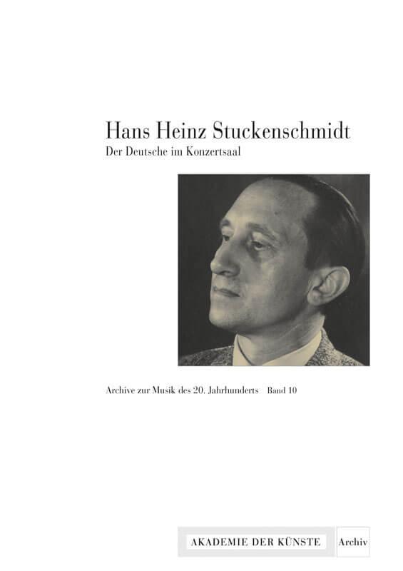 Werner Grünzweig, Christiane Niklew (Hg.), Hans Heinz Stuckenschmidt