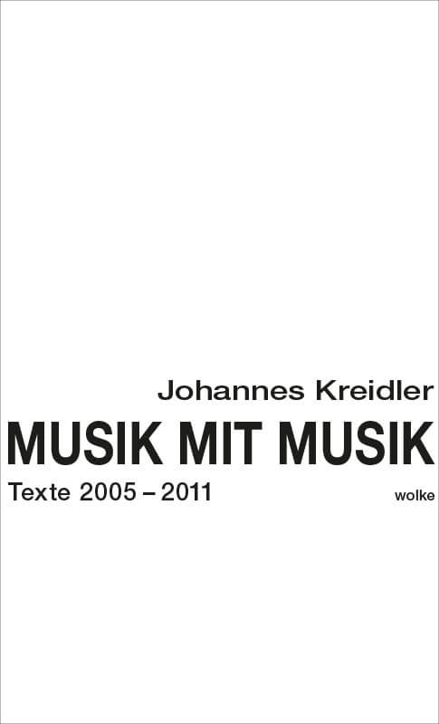 Johannes Kreidler, Musik mit Musik