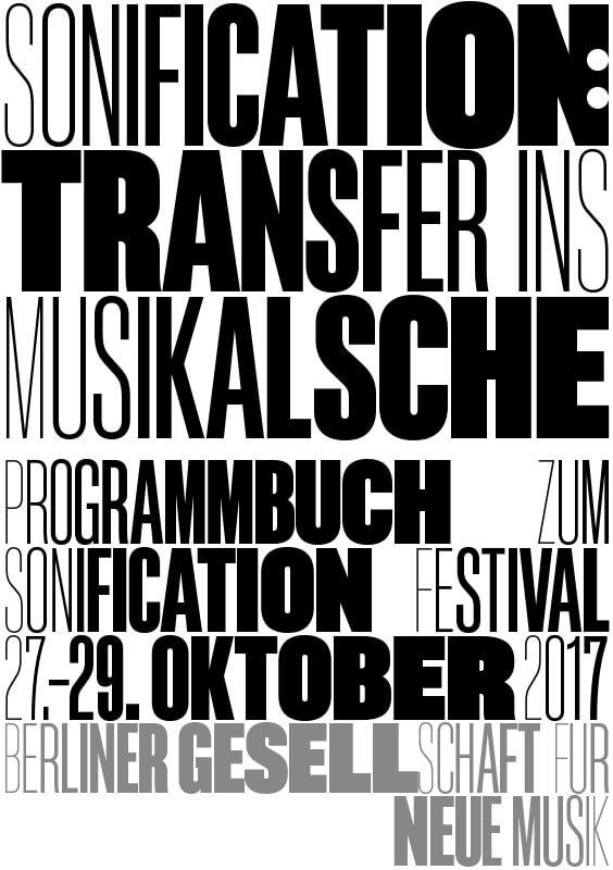 Julia H. Schröder (Hg./ed.), Sonifikation:Transfer ins Musikalische